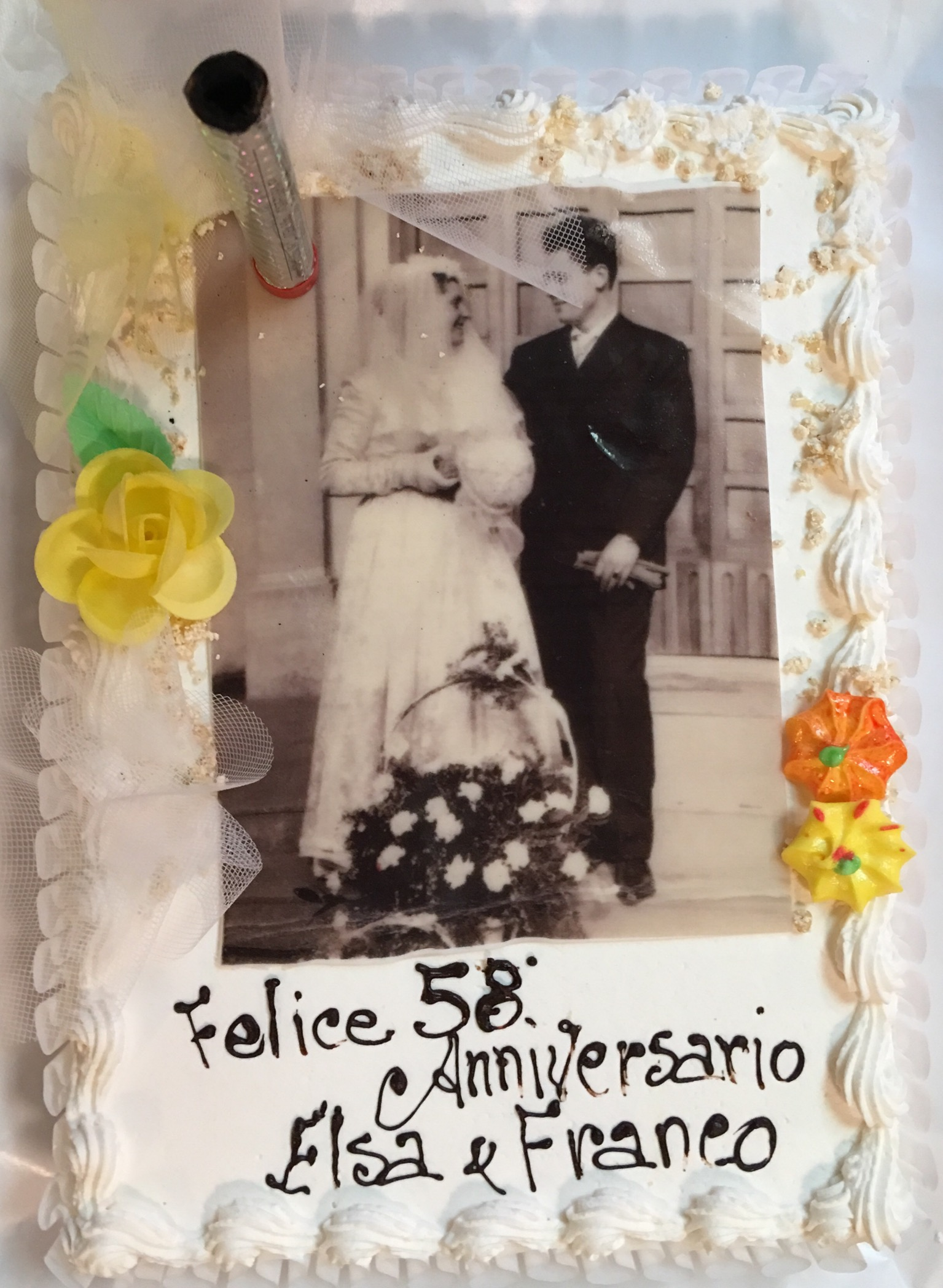 Anniversario Di Matrimonio 58 Anni.58 Anniversario Di Matrimonio Dei Miei Genitori Hector Bertato